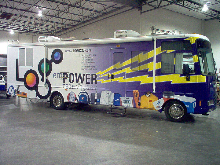 Vehicle Wraps - Full service fleet graphics and marketing