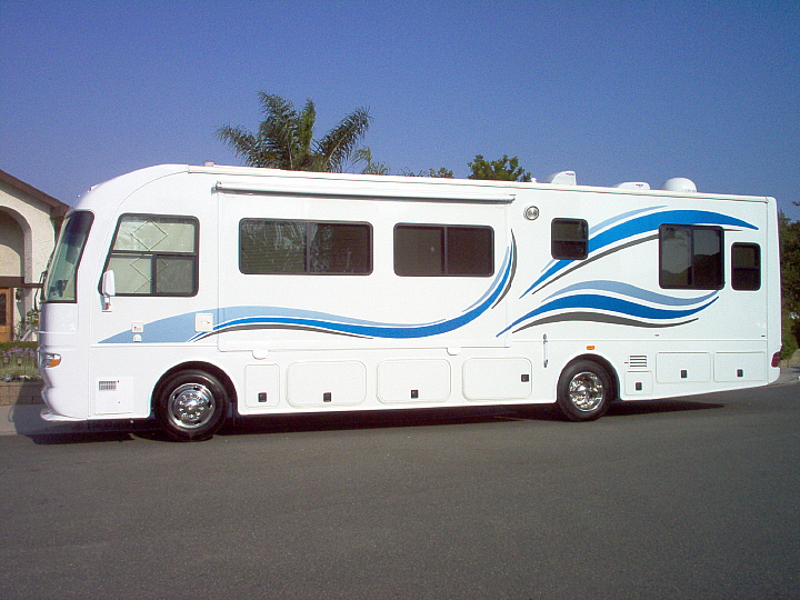 Custom rv murals motorhome decals movie search engine at for Decals for rv mural