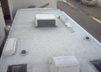 RV roofing, motorhome roofing, trailer roofing, rv roof coating