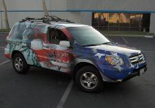 car and truck wraps, vehicle wraps, vehicle wrap, suv wrap, liberty tax